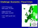challenge economic fiscal crisis