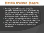 miatrika fihaikana goavana2