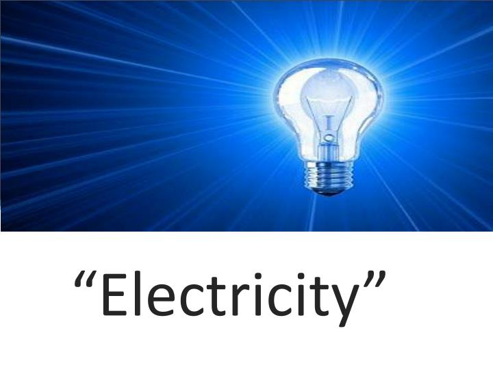 electricity n.