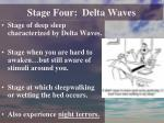 stage four delta waves
