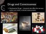 drugs and consciousness1