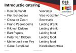 introductie catering