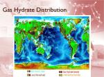 gas hydrate distribution
