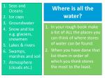 where is all the water1