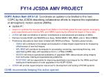 fy14 jcsda amv project