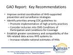 gao report key recommendations