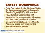 safety workforce