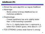 adaboost m11