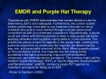 emdr and purple hat therapy