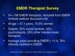 emdr therapist survey