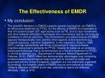 the effectiveness of emdr2