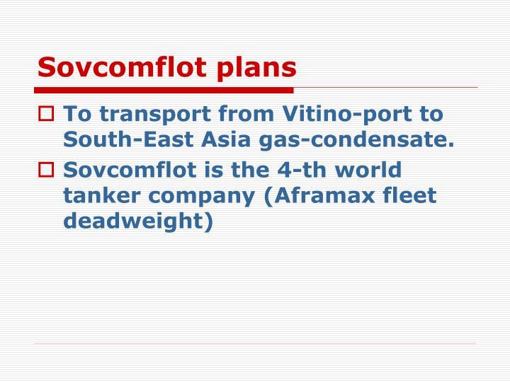 Sovcomflot plans