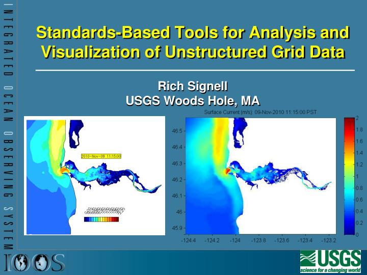 standards based tools for analysis and visualization of unstructured grid data n.