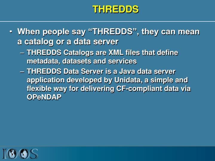 THREDDS