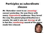 participles as subordinate clauses5