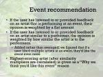 event recommendation1