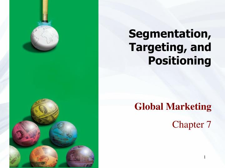 segmentation targeting and positioning n.