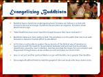 evangelizing buddhists