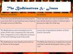 the bodhisattvas jesus