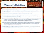 types of buddhism1