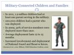 military connected children and families