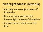 nearsightedness myopia
