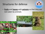 structures for defense2