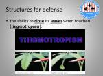 structures for defense3