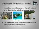structures for survival seeds