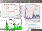 highlights spectroscopy of 12 b