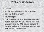 problem 2 answer