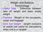 weight and balance terminology3