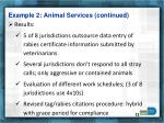 example 2 animal services continued1