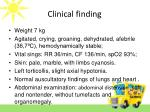 clinical finding