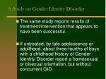 a study on gender identity disorder2
