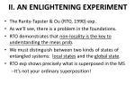 ii an enlightening experiment