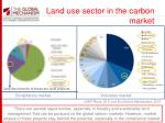 land use sector in the carbon market1