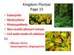 kingdom plantae page 15