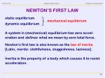 newton s first law1