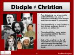 disciple christian