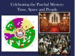 celebrating the paschal mystery time space and people