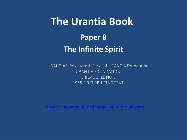the urantia book n.