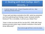 2 dealing with gish gallop don t directly2