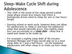 sleep wake cycle shift during adolescence2