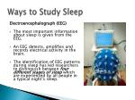 ways to study sleep3