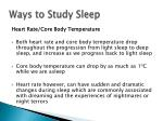 ways to study sleep6