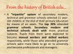 from the history of british edu1