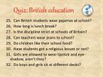 quiz british education3