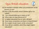 quiz british education4