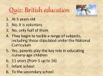 quiz british education6